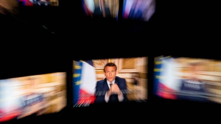 Solidarität in Corona-Zeiten: Die Diagnose des französischen Präsidenten Emmanuel Macron: Passt die EU jetzt nicht höllisch auf, geht ihr das politische Fundament verloren.