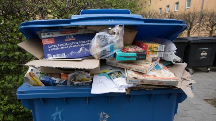 Müllverbrauch in der Corona-Krise