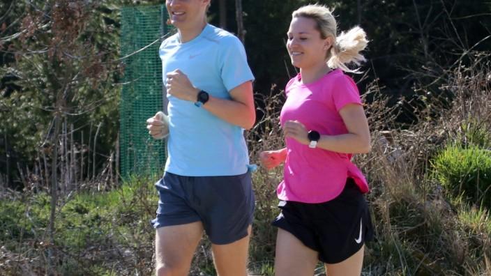 Langstreckenspezialisten Michael und Hannah Sassnink