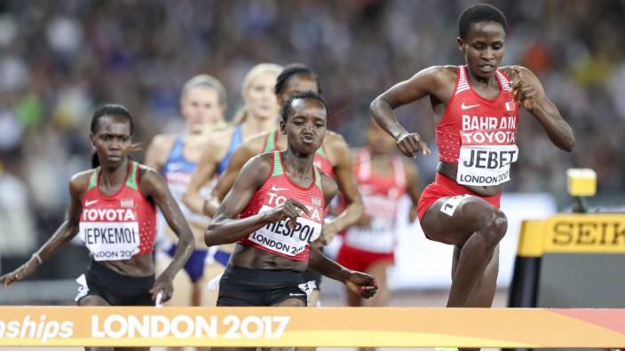 IAAF World Championships vom 04 13 08 2017 London 11 08 2017 v l Hyvin Kiyeng Jepkemoi KEN Ce
