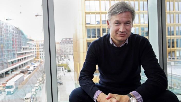 Ulf Poschardt Chefredakteur der Zeitung Die Welt am 15 03 18 in seinem Buero im Axel Springer Hoc