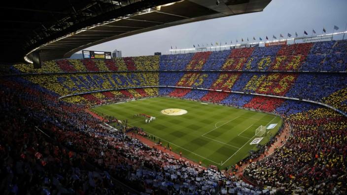 Spanien: Das Camp-Nou: einer der wichtigsten Sporttempel der Welt
