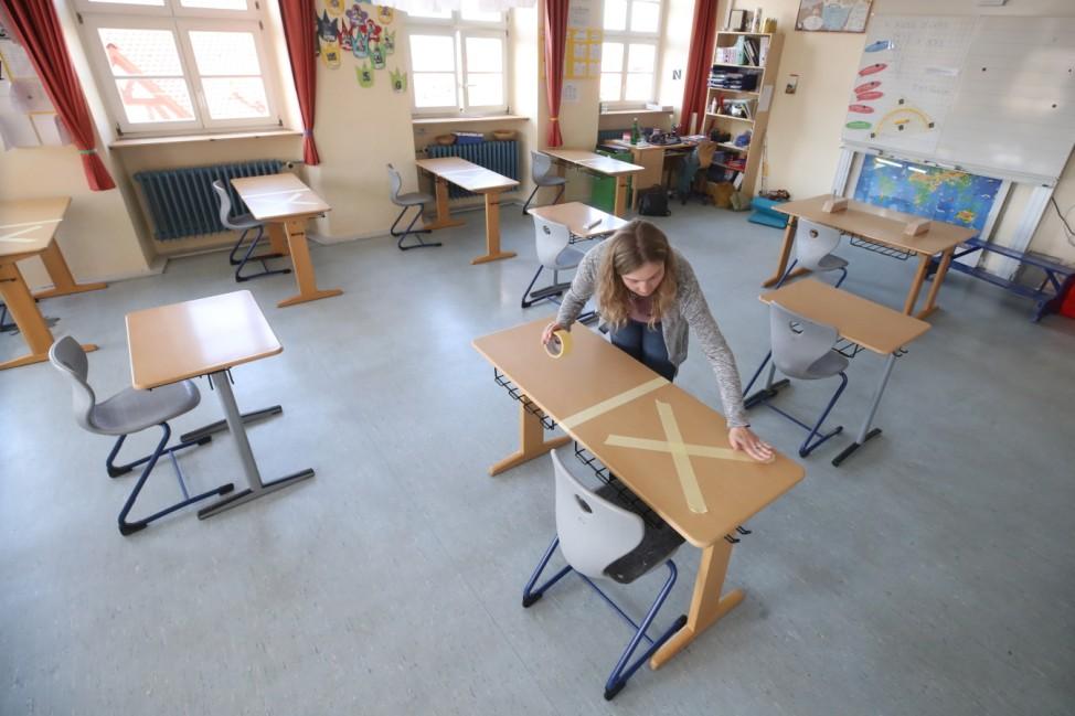 Schools Prepare To Reopen As Coronavirus Restrictions Ease