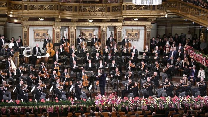 Voraufführung des Neujahrskonzertes der Wiener Philharmoniker