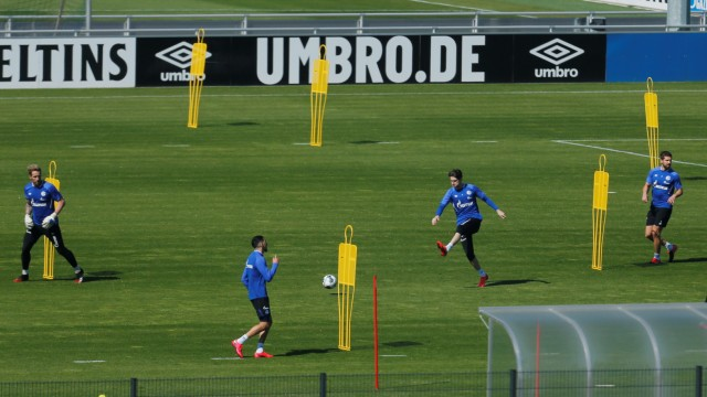 Schalke 04 Training