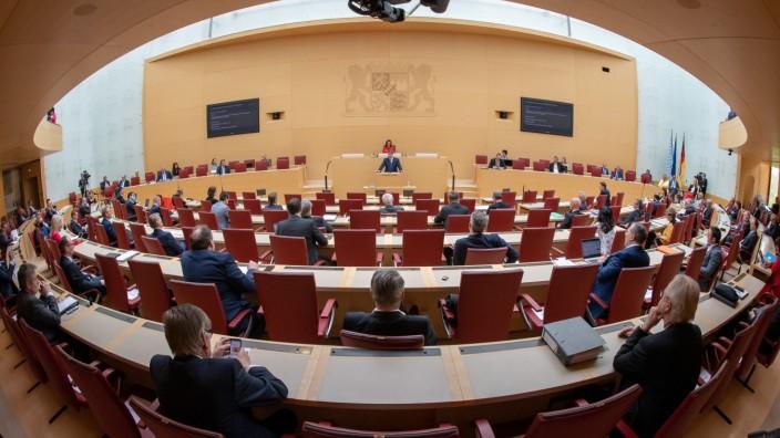 Sitzung des bayerischen Landtags