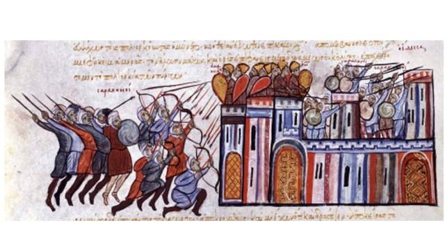 Angriff der Araber auf Edessa