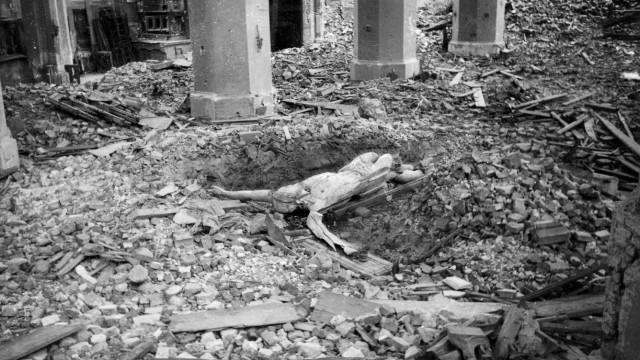 Zerstörungen in der Frauenkirche