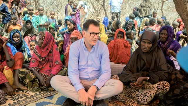Bundesentwicklungsminister Gerd Müller in Äthiopien