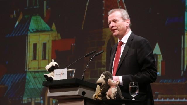 12.02 2020 Nürnberg Messe Biofach. Die Biofach gilt als Weltleitmesse für Bio-Lebensmittel. Grußworte zur Eröffnung der