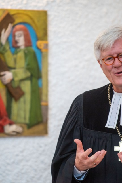Landesbischof Bedford-Strohm besucht JVA an Weihnachten