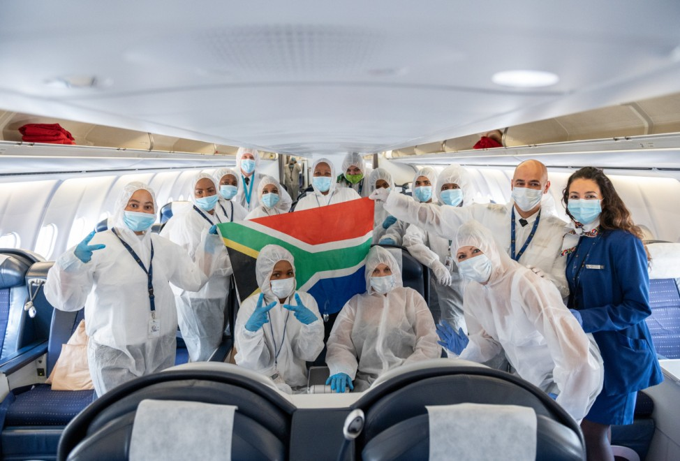 Rückholflug aus Südafrika