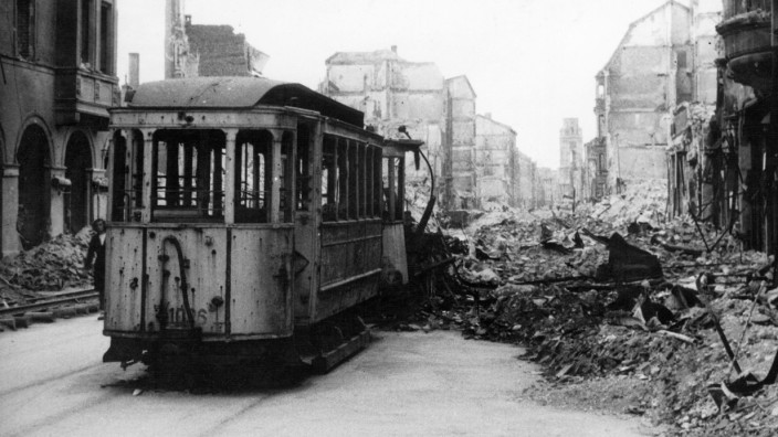 Zerstörtes München, 1945
