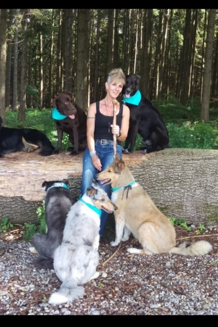 Hundesittering Elisabeth Faltermeier aus Anzing mit Kundschaft