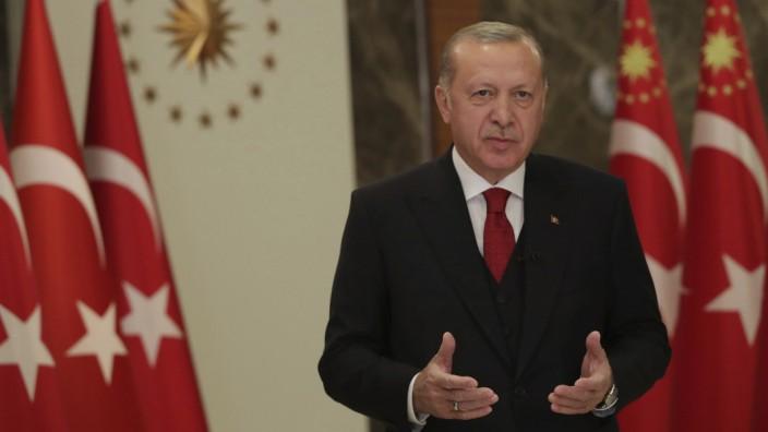 Recep Tayyip Erdogan, Türkei, Corona