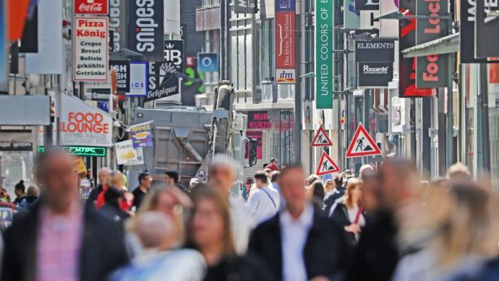 Coronavirus - Einkaufen in Köln