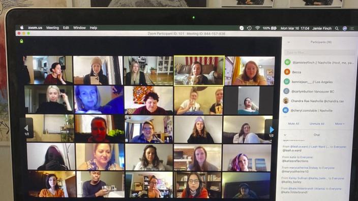 Coronavirus - Videokonferenz-Dienst Zoom