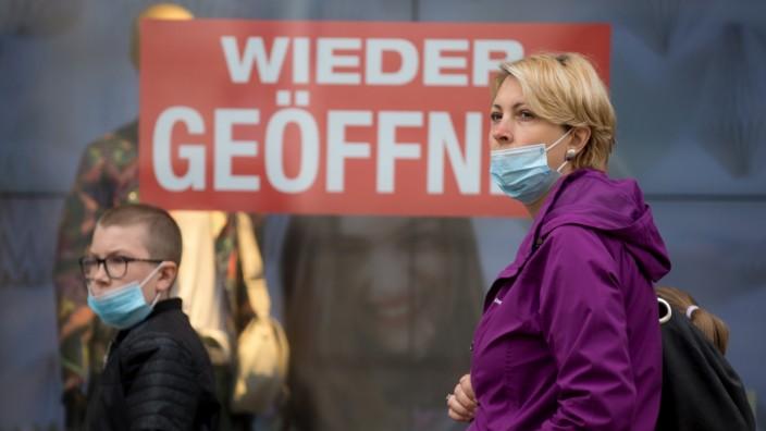 FREISING: Maskenpflicht + Wiedereröffnung von Geschäften - Impressionen aus der bürgerlichen Altstadt (Obere und untere Altstadt)