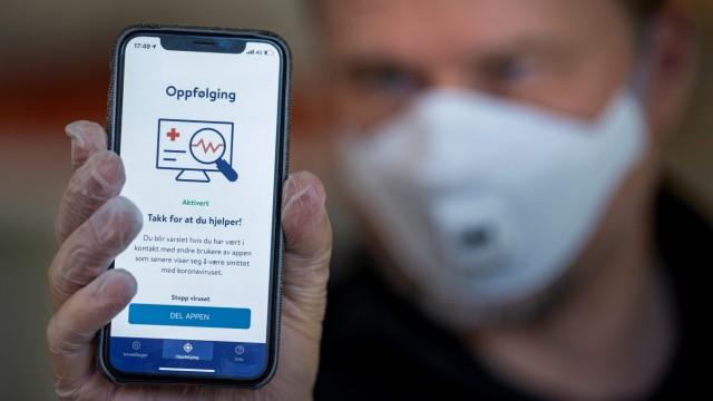 Corona-App: Tracing-App in Norwegen