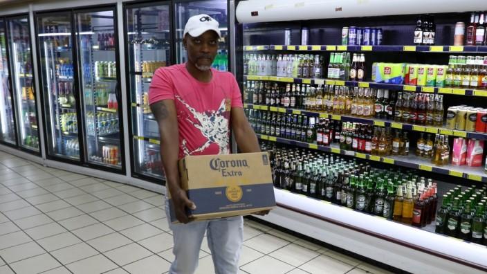 Corona Südafrika Bier