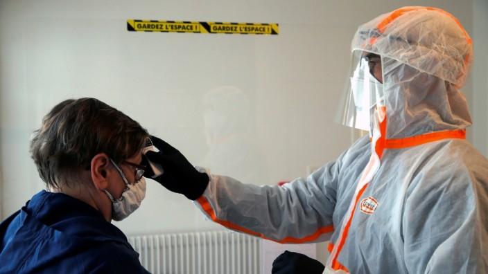 The coronavirus disease (COVID-19) outbreak in Gouzeaucourt