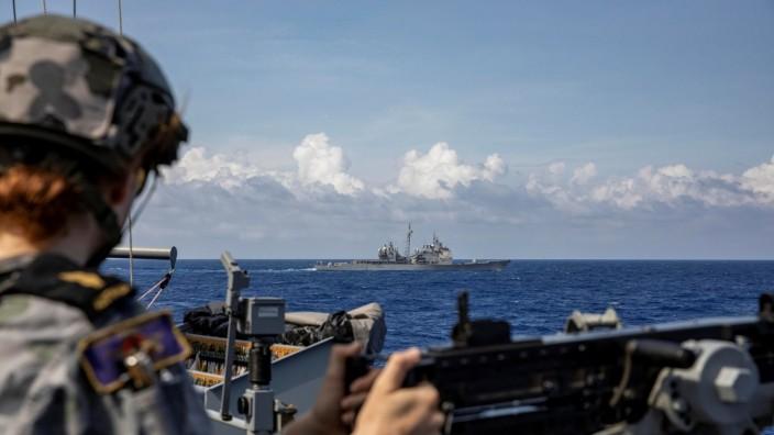 China südchinesisches Meer Geopolitik