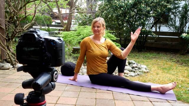 VHS Online Kurse - Yoga