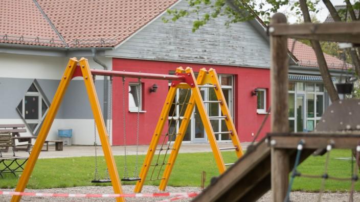 MARZLING: Aussenansicht kommunaler Kindergarten