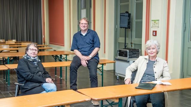 Lager für Displaced Persons in Feldafing: Eva-Maria Herbertz, Bernhard Sontheim und Claudia Sack arbeiteten an einer Gedenkveranstaltung, die abgesagt werden musste.