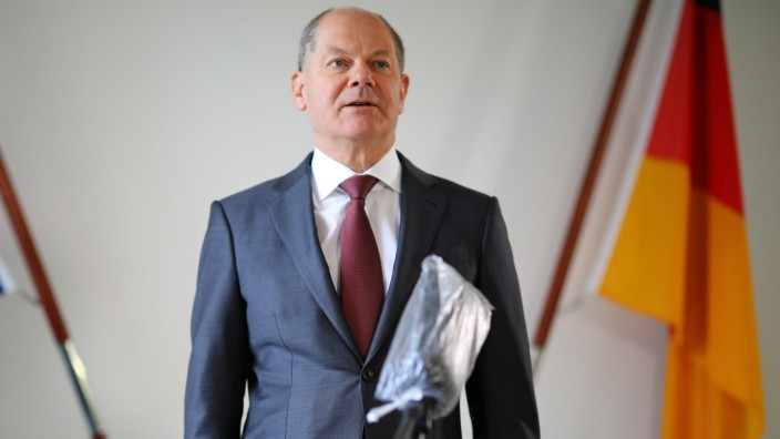 Reuters interview with German Finance Minister Olaf Scholz in Berlin