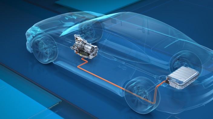 ZF Plug-in-Hybrid mit integrierter Steuerungselektronik
