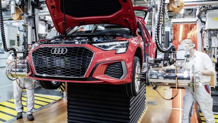 Audi A3 Montagelinie