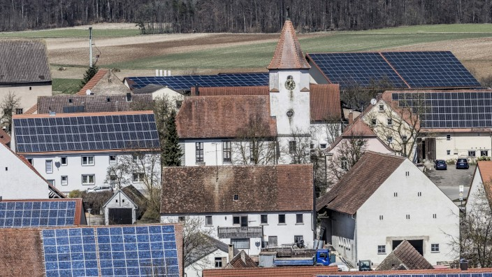 Solardächer in Degersheim, 2018