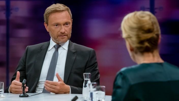Maybrit Illner im ZDF am 30.4.2020