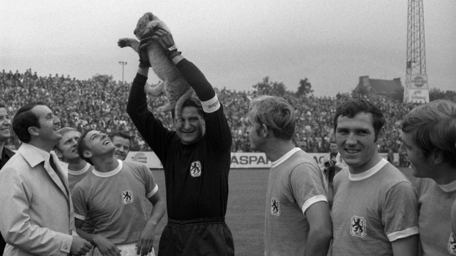 Fußball - 1860 München - Historie - Petar Radi Radenkovic