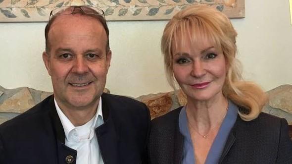 Susanne und Dieter Ulrich  City Hotel Ost am Kö Augsburg