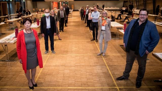 FREISING: Luitpold-Halle - Stadtrat - Stadtratssitzung / Verabschiedung von Stadträten / Stadtratsmitgliedern