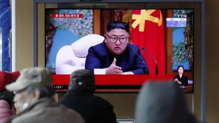 Nordkorea Kim Gesundheit