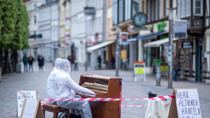 Coronavirus - Musikerprotest