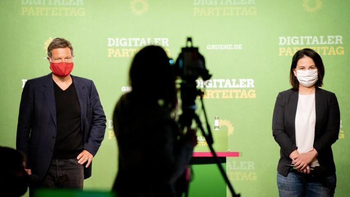 Digitaler Grünen-Bundesparteitag zur Corona-Krise