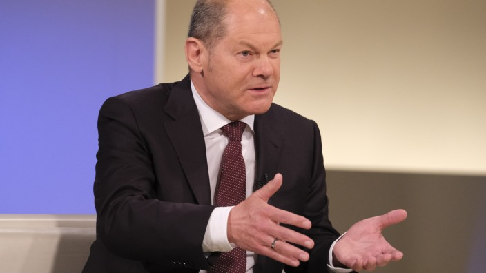 Anne Will; Olaf Scholz