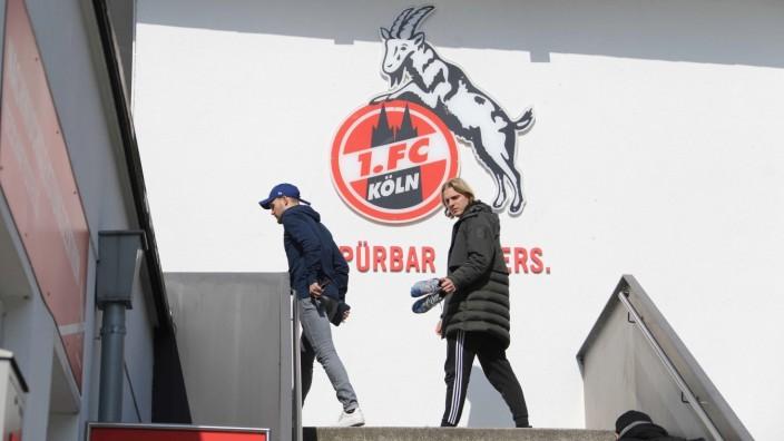 1. FC Köln / Corona 1. Fussball Bundesliga Saison 2019 2020 Geißbockheim Köln Deutschland 27.03.2020 Links: Birger Verst; Köln