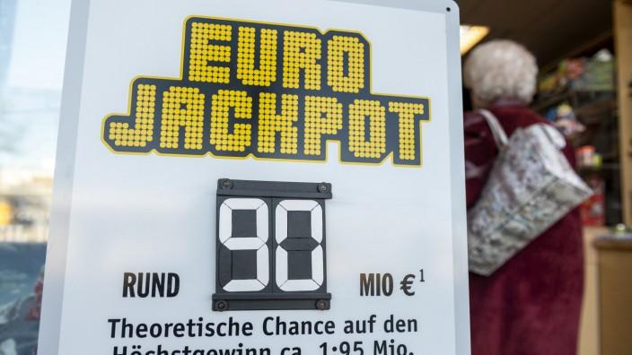 Höchster Lottogewinn in Bayern - Eurojackpot mit 90 Millionen