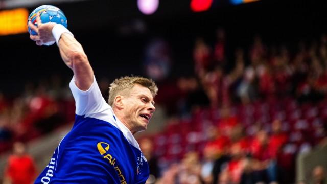 200115 Gudjon Valur Sigurdsson of Iceland during the EHF European Handball Championship match between Iceland and Hunga