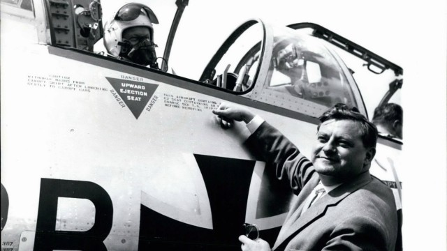 Jul 07 1960 The first Starfighters for the German army On July 22nd the first ten Starfighters