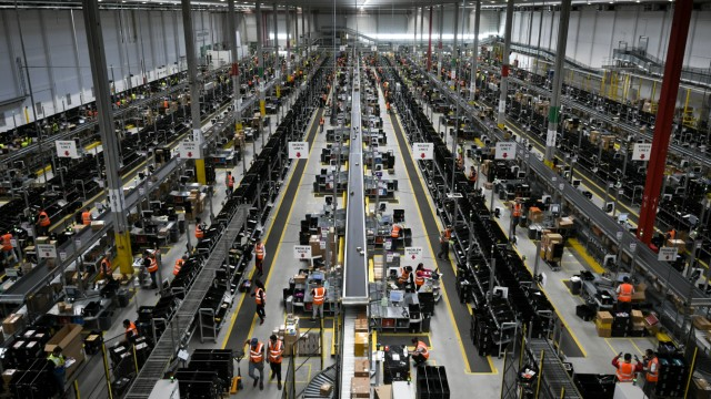 Amazon-Logistikzentrum in Dortmund