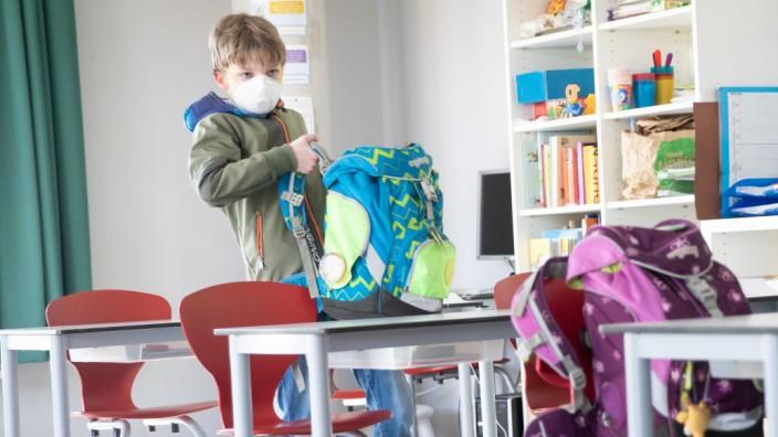 Schulunterricht in Hamburg startet eingeschränkt