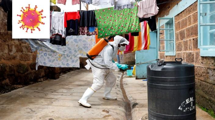 Welt im Fieber - Kenia, The spread of the coronavirus disease (COVID-19) in Nairobi