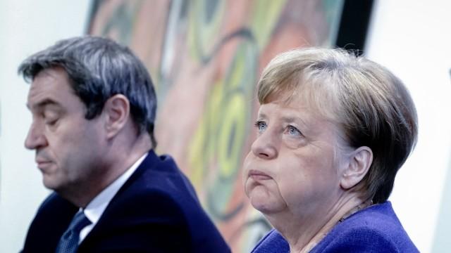 Coronavirus - Merkel PK