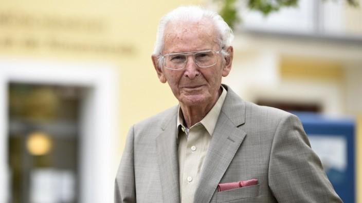 Josef Stöcher lebt im Münchenstift  in der Rümannstraße in München